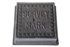 Survey Mark Box